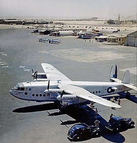 Avro York, Almaza, Cairo 1946. Flickr.jpg