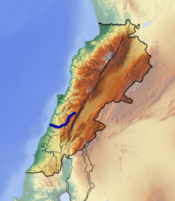 Awali River Route.png