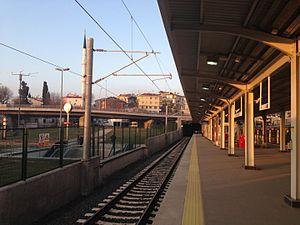 Ayrılık Çeşmesi railway station - Image: Ayrilikcesmesi marmaray