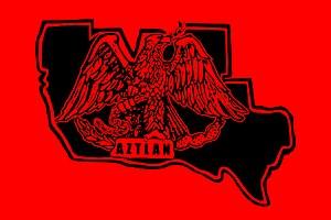 Raza Unida Party - Image: Aztlan flag rb