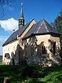 Běleč (KL), kostel svatého Mikuláše, od východu.jpg
