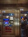 BART fare machines at Embarcadero station, November 2018.jpg