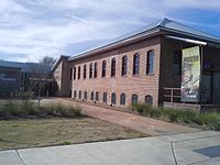 BB King Museum and Delta Interpretive Center in Indianola, Mississippi showing the cotton gin.jpg