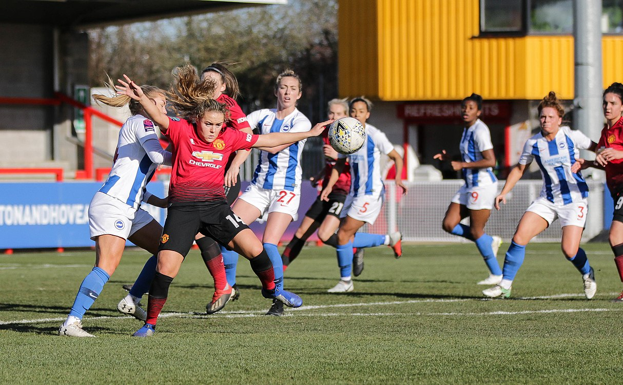 BHA Women 0 Man Utd Women 2 WFAC 4th rd 03 02 2019-577 (46072303155).jpg