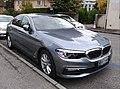 BMW 530i Switzerland Diplomatic plate (Netherlands) (46264775132).jpg