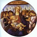 BOTTICELLI, Alessandro Madonna and Child with Eight Angels, c1478.jpg