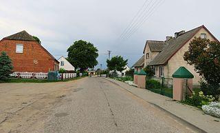 Bratuszewo Village in Warmian-Masurian, Poland