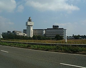 BT Group - The Adastral Park campus at Martlesham Heath in Suffolk, the principal site of BT Research.