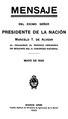 BaANH50607 Mensaje del Presidente de la Nación - Marcelo T. de Alvear (1925).pdf