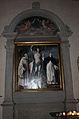 Bachiacca, ss. benedetto, sebastiano e domenico, angeli nella lunetta 01.JPG