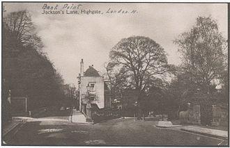 Herman George Scheffauer - Bank Point, Jackson's Lane, Highgate, North London