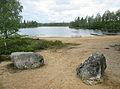 Badplatsen vid Sidsjön, Källsjön, Ockelbo kn 3922.jpg