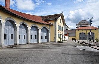Dampfbahn-Verein Zürcher Oberland - The lok remise at Uster