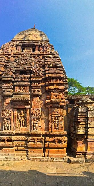 Baitala Deula - Vertical panorama of the entire temple