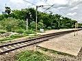 Balabhadrapuram railway station board.jpg