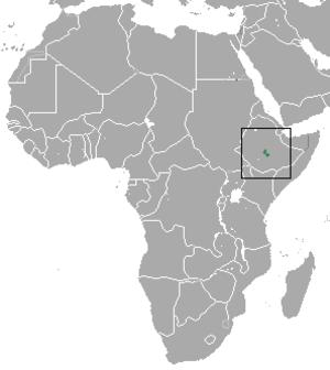 Bale shrew - Image: Bale Shrew area
