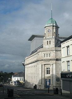 Ballymena a town in County Antrim, Northern Ireland