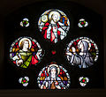 Ballymote Church of the Immaculate Conception South Aisle Sacred Heart Window 2010 09 23.jpg