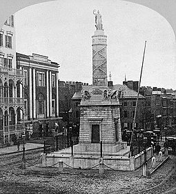 The Battle Monument is the official emblem of the City of Baltimore. Balt Battle Monument 1a.jpg