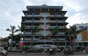 Bandar Lampung - Bandar Lampung University, Campus A