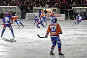 Bollnäs GIF - Bollnäs against district rivals Edsbyns IF