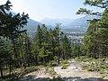 Banff city viewed from Tunnel Mtn, Jul 2017.jpg