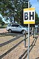 Bankhead Highway East signpost Mt Vernon TX 2015.jpg