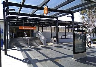 Bankstown railway station railway station in Sydney, New South Wales, Australia