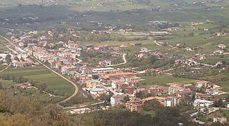 Baragiano - Image: Baragiano Scalo
