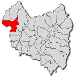 Location of Baraolt