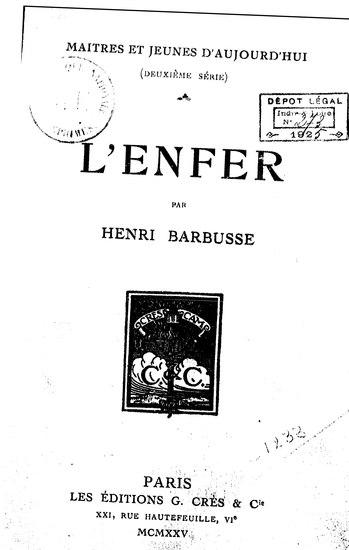 File:Barbusse - L'Enfer.djvu