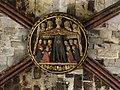 Barcelona, La Catedral, Clave de bóveda de la Virgen de Misericordia, 2015.jpg