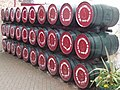 Barrels at Old Bushmills Distillery - geograph.org.uk - 1478298.jpg