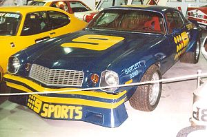 1982 Australian Touring Car Championship - Kevin Bartlett placed equal third driving a Chevrolet Camaro Z28