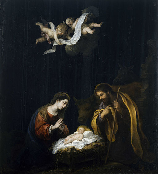 Bartolomé Esteban Murillo - The Nativity - Google Art Project