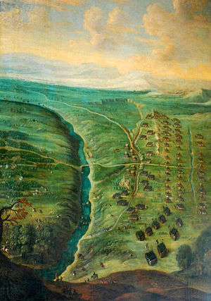 Battle of Les Avins - Image: Bataille d'Avein