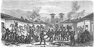 Battle of Rancagua -  The Battle of Rancagua