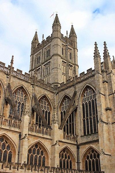 File:Bath Abbey Tower 2014.JPG