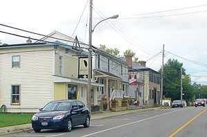 Loyalist, Ontario - Main street in Bath