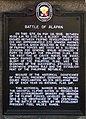 Battle of Alapan Historical Marker in Alapan Elementary School.jpg