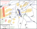 Battle of Rossbach - Maneuver for position, 2-4 November 1757.png