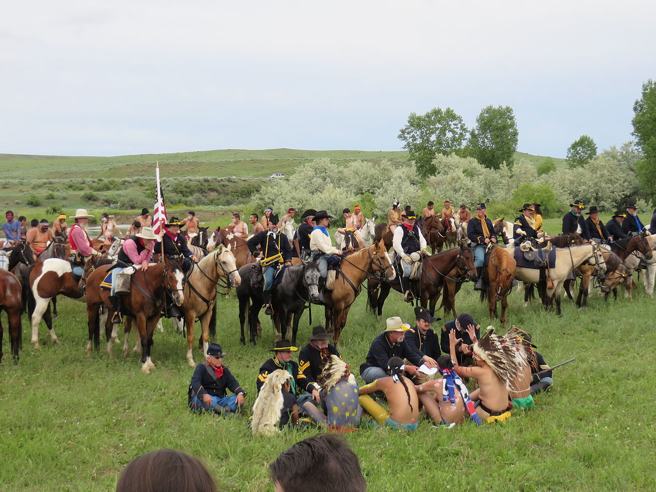 An overview of the battle of the little bighorn