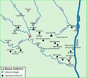 riviere ardeche - Image