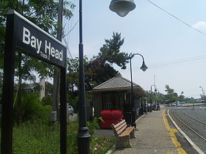 Bay Head station - Bay Head station in July 2010.