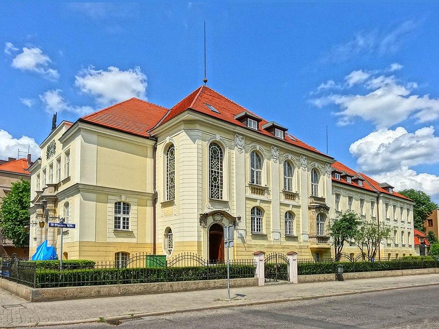 Main building of Bydgoszcz Music Academy