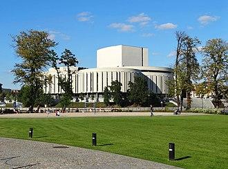 Opera Nova Bydgoszcz - View from Mill Island