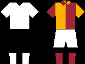 Beşiktaş–Galatasaray rivalry - Image: Beşiktaşvs Galatasaray Kits