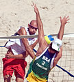Beach volley at the Beijing Olympics - Final USA v. Brazil (2).jpg