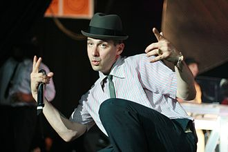 Ad-Rock - Ad-Rock with the Beastie Boys in Barcelona, Spain on September 5, 2007.