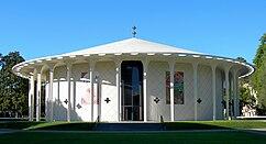 Beckman Auditorium, California Institute of Technology, Pasadena, California (1960)